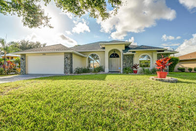 Port Saint Lucie Single Family Home For Sale: 3366 SE East Snow Road