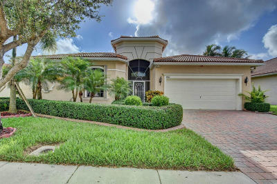West Palm Beach Single Family Home For Sale: 8412 Pine Cay