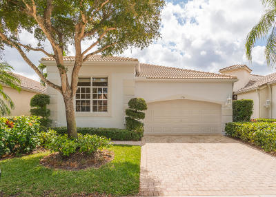 Palm Beach Gardens Single Family Home For Sale: 156 Sunset Bay Drive