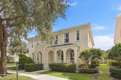 Jupiter Townhouse For Sale: 112 Merrimack Way #112
