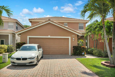 West Palm Beach Single Family Home For Sale: 3245 Turtle Cove