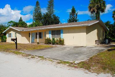 Jensen Beach Single Family Home For Sale: 1065 NE Banyan Tree Drive