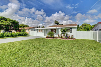 Delray Beach Single Family Home For Sale: 251 NE 13th Street