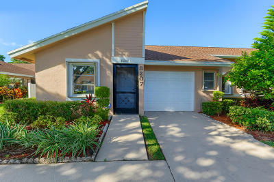 Boca Raton Single Family Home Contingent: 8207 Summerbreeze Lane #C