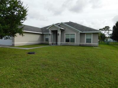 Port Saint Lucie Single Family Home For Sale: 382 SW Duval Avenue