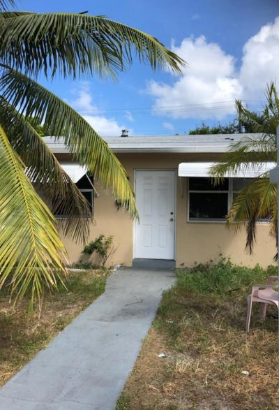 Lake Worth Single Family Home Contingent: 922 S F Street