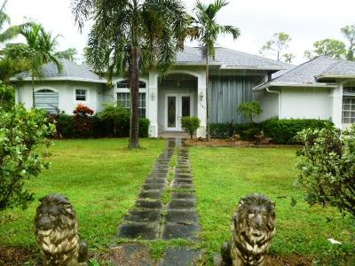 Loxahatchee Single Family Home For Sale: 17043 Orange Boulevard