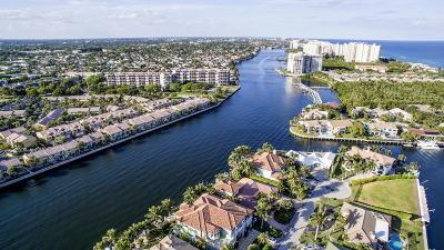 Highland Beach Single Family Home For Sale: 4205 Intracoastal Drive