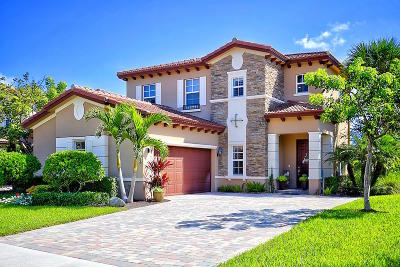 Jupiter Single Family Home For Sale: 182 Umbrella Place