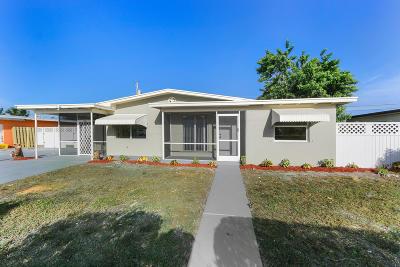 Lantana Single Family Home For Sale: 902 S 9th Street