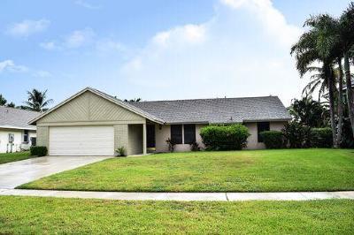 Boynton Beach Single Family Home For Sale: 10714 Mandya Court