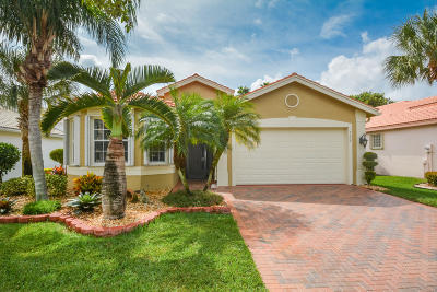 Delray Beach Single Family Home For Sale: 7207 Imperial Beach Circle