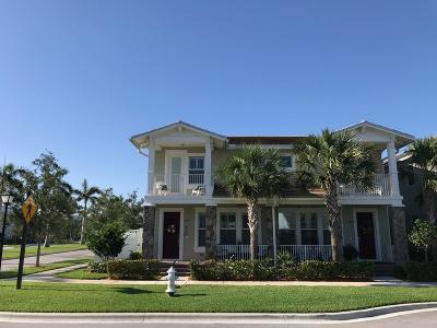 Jupiter Townhouse For Sale: 1152 Turnbridge Drive