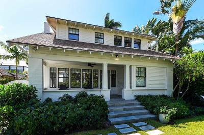 Palm Beach Single Family Home For Sale: 246 Seaspray Avenue
