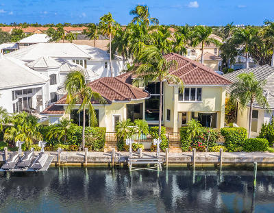 Boca Raton Single Family Home For Sale: 659 Boca Marina Court