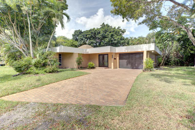Tamarac Single Family Home For Sale: 6307 Waxmyrlte Circle