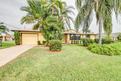 Port Saint Lucie Single Family Home For Sale: 2405 SW Falcon Circle