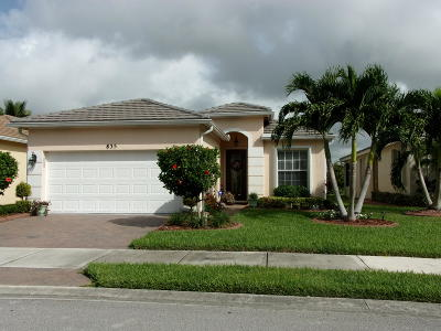 Port Saint Lucie Single Family Home For Sale: 835 SW Rocky Bayou Terrace