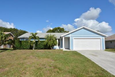 Port Saint Lucie Single Family Home For Sale: 931 SW Gwendolen Terrace