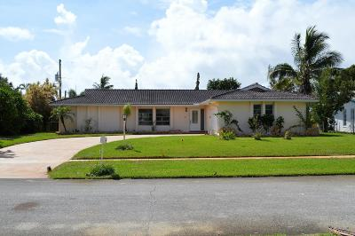 North Palm Beach Single Family Home For Sale: 1858 Crafton Road