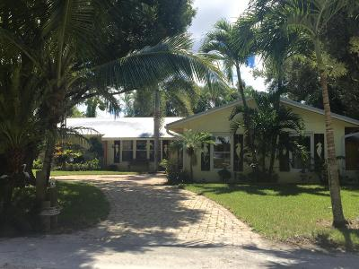 Jupiter Single Family Home For Sale: 104 Elsa Road