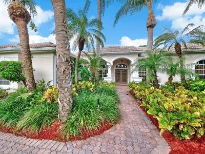 West Palm Beach Single Family Home For Sale: 7779 Ironhorse Boulevard