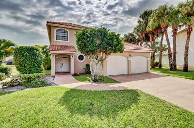 Boynton Beach Single Family Home For Sale: 12270 Fairway Pines Drive
