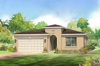 Port Saint Lucie Single Family Home For Sale: 1308 NW Leonardo Circle