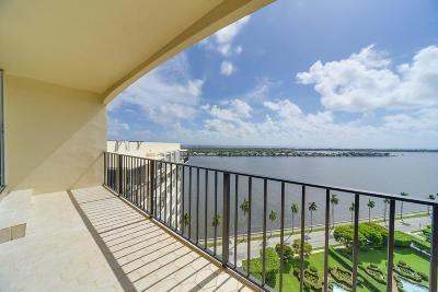 West Palm Beach Condo For Sale: 1701 S Flagler Drive #Ph4