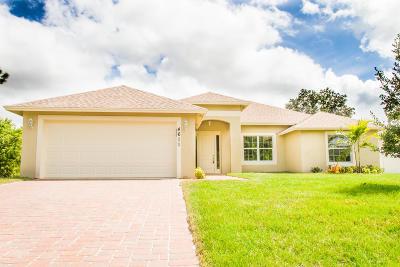 Port Saint Lucie Single Family Home For Sale: 4611 SW Nackman Terrace