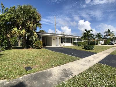 Boca Raton Single Family Home For Sale: 901 W Royal Palm Road