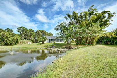 Port Saint Lucie Single Family Home For Sale: 7502 Bobcat Run