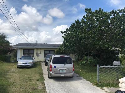 Stuart Single Family Home For Sale: 903 SE 9th Street