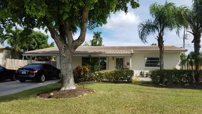 Pompano Beach Single Family Home For Sale: 3040 NE 9th Terrace