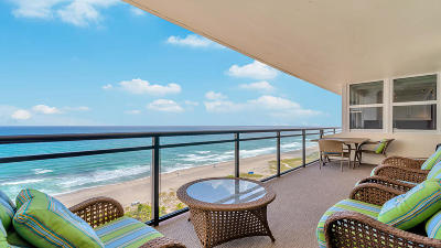 Palm Beach County Condo For Sale: 2000 S Ocean Boulevard #17-D
