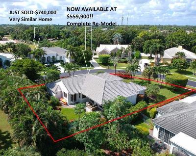 Boynton Beach Single Family Home For Sale: 4821 Glenn Pine Lane