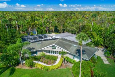 Fort Pierce Single Family Home For Sale: 1400 Parkland Boulevard