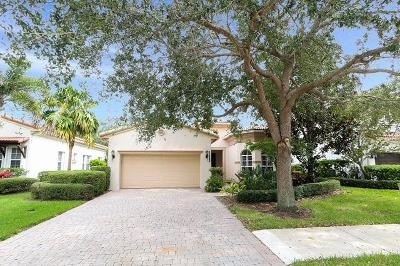 Palm Beach Gardens Single Family Home For Sale: 1718 Nature Court
