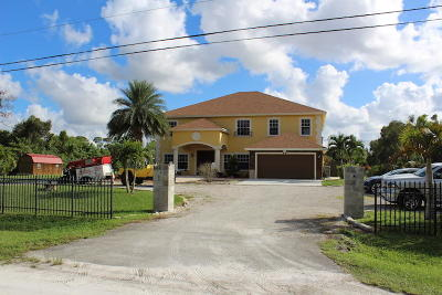 Loxahatchee Single Family Home For Sale: 17948 33rd Road