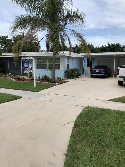 Margate Single Family Home For Sale: 5716 Seton Drive