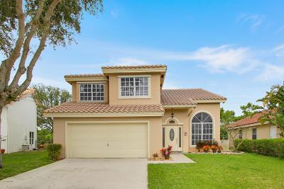 Boynton Beach Single Family Home For Sale: 8574 Tourmaline Boulevard