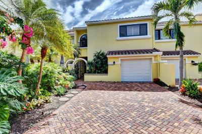 Ocean Ridge Townhouse For Sale: 5582 Ocean Boulevard #32f