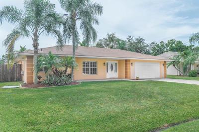 Port Saint Lucie Single Family Home For Sale: 118 NE Twylite Terrace