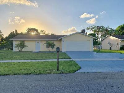 Royal Palm Beach Single Family Home For Sale: 204 Bobwhite Road