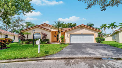 Coral Springs Single Family Home Contingent: 4882 NW 103rd Drive