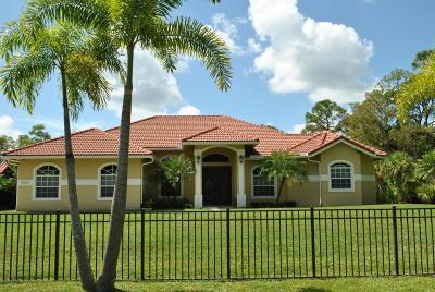 Palm Beach Gardens Single Family Home Contingent: 15725 80th Drive