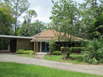 Jupiter Single Family Home Contingent: 13340 159th Street