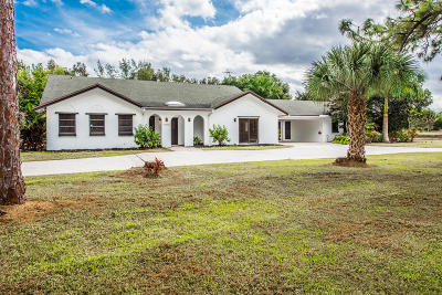 Palm Beach Gardens Single Family Home For Sale: 11232 83rd Lane
