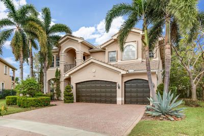 Boynton Beach Single Family Home Contingent: 11193 Sunset Ridge Circle