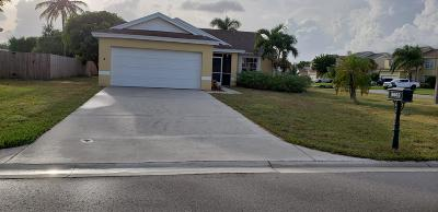 Boynton Beach Single Family Home For Sale: 9603 Arbor Meadow Drive